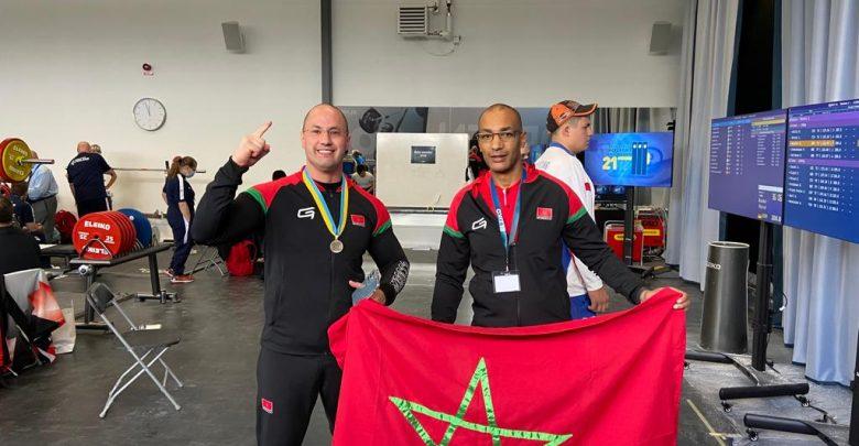 البطل الطنجاوي نزار يرفع العلم المغربي في السويد 1