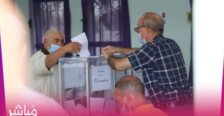 نسبة المشاركة في الإنتخابات بدائرة طنجة بلغت 7 في المائة عند الظهر 1