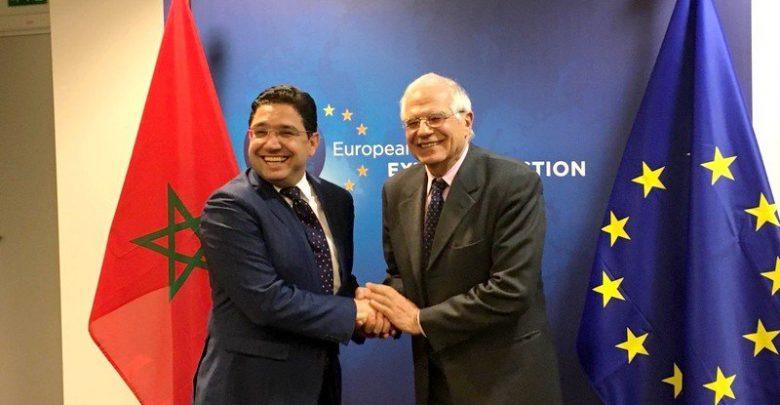 بوريطة وبوريل يؤكدان استمرار واستقرار العلاقات التجارية بين الاتحاد الأوروبي والمغرب 1