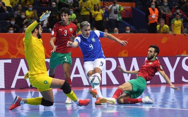 المنتخب المغربي يسقط أمام البرازيل ويودع المونديال 1