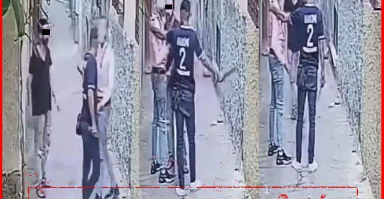 """بطل فيديو """"كريساج"""" في واضحة النهار بطنجة في قبضة الأمن 1"""