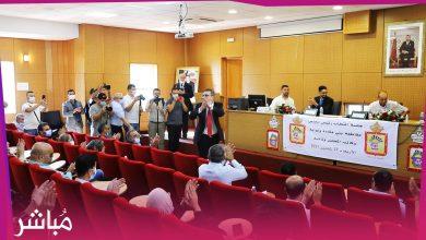 بالأغلبية الساحقة محمد الحمامي يفوز برئاسة أكبر مقاطعة في المغرب 3