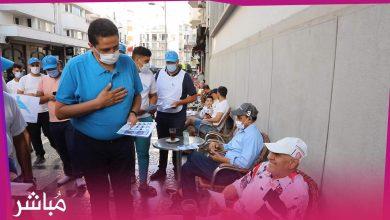مورو يقود حملة ميدانية في أهم شوارع طنجة لإقناع الساكنة بالتصويت لحزب الأحرار 1