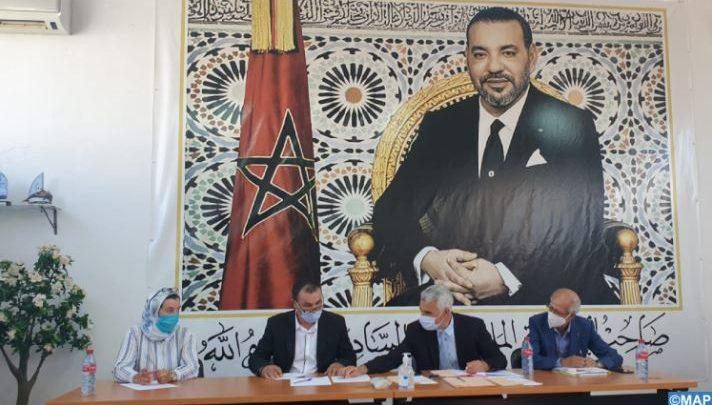 انتخاب المصطفى مهدي عن الاتحاد الاشتراكي رئيسا لجماعة وادي لو 1