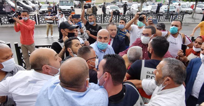 التحالف الثلاثي يخرج ببيان ناري بسبب جلسة انتخاب رئيس مقاطعة طنجة المدينة 1