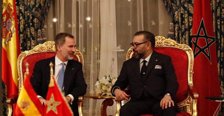 الملك يبعث برقية تهنئة إلى فيليبي السادس ويشيد بالعلاقات مع إسبانيا 1