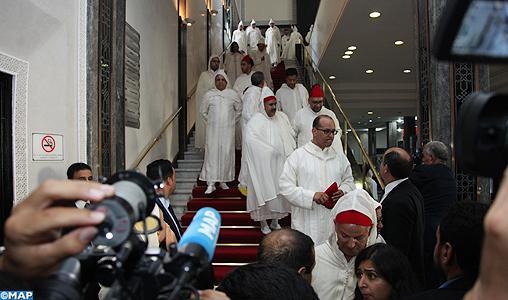 إلزام أعضاء مجلسي النواب والمستشارين بحضور افتتاح السنة التشريعية بالزي الوطني 1