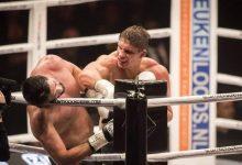 """ريكو يسقط جمال بن صديق بالضربة القاضية ويُحافظ على حزام الـ""""غلوري"""" 8"""
