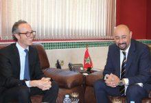 عمدة طنجة يستقبل مدير البنك الأوروبي وإعادة الإعمار بالمغرب 4