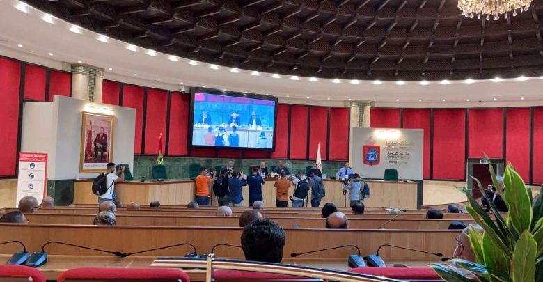 مجلس جماعة طنجة يصادق على رؤساء اللجان ونوابهم 1